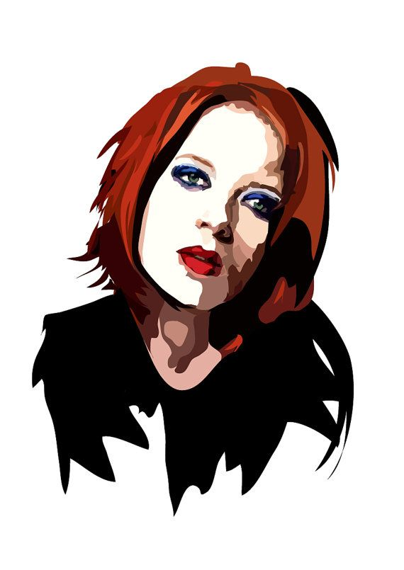 Shirley Manson Art Print #virgo #garbage