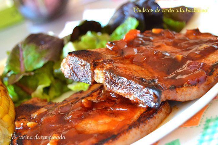 17 best ideas sobre chuletas de cerdo a la barbacoa en for Comida para barbacoa