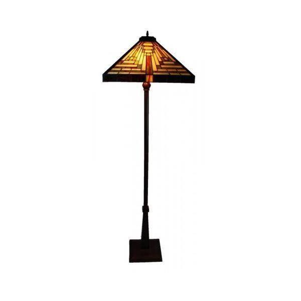 Bingli International Boston Triangle Tiffany Floor Lamp   Floor Lamps for sale in Faulconbridge