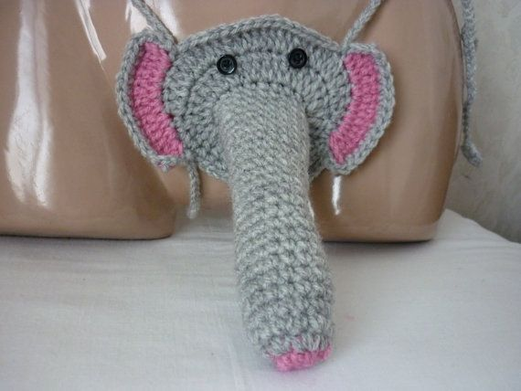 Crochet Elephant Sexy Men's Thong Men thongs string by karsona11