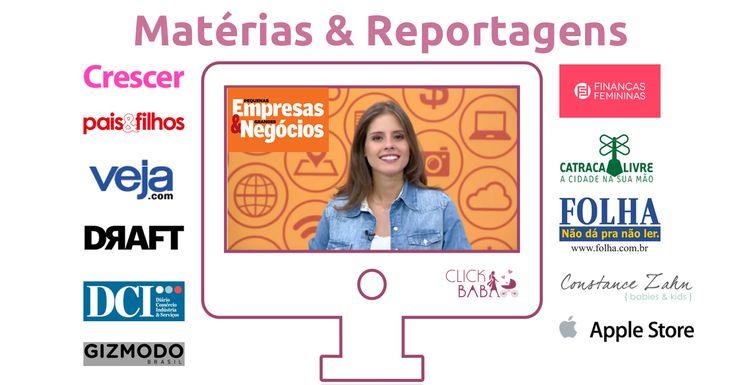 Click Babá na Mídia - Noticias e Reportagens