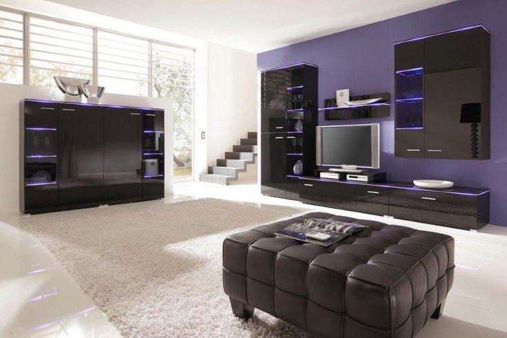BLOG | Moderné biele lesklé obývačky | Nábytok, sedačky, pohovky, skrine, spálne, obývacie steny