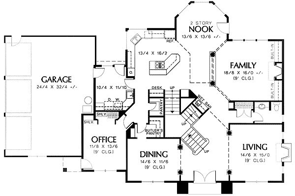81 best images about house plans on pinterest house for Architecturaldesigns com house plan 56364sm asp