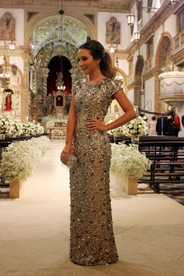Madrinhas de casamento: 05 vestidos: Lalá Noleto