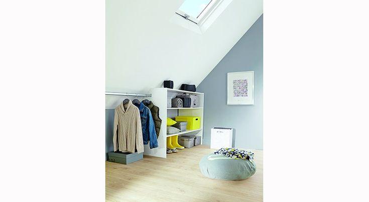 5 dressings pour petits espaces : dressing en angle, sous combles...