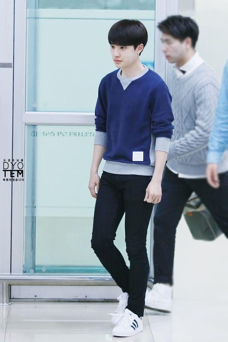 141006- EXO D.O (Do Kyungsoo); Tokyo Airport to Gimpo Airport #exok #korean #men #fashon #style #kfashion #kstyle