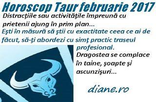 Horoscop februarie 2017 Taur