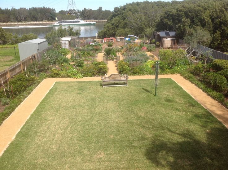 2014 - The garden from the balcony