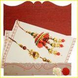 Beautiful Lumba and  Rakhi Set .How to send this beautiful Rakhi Lumba Set from India .Just Do it from indiangiftguru.