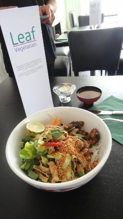 Leaf Vegetarisch Aziatisch Restaurant Renbaanstraat 1 Den Haag