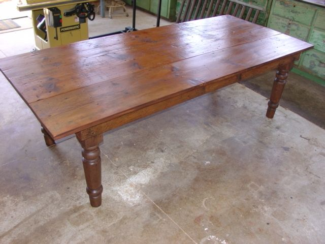 7 best images about coffee table on pinterest pine table for White turned leg dining table