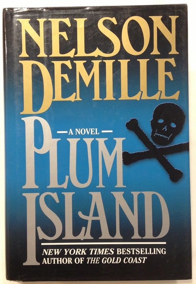 Plum Island By Nelson Demille 1997 Hardcover W Dust Jacket First Edition