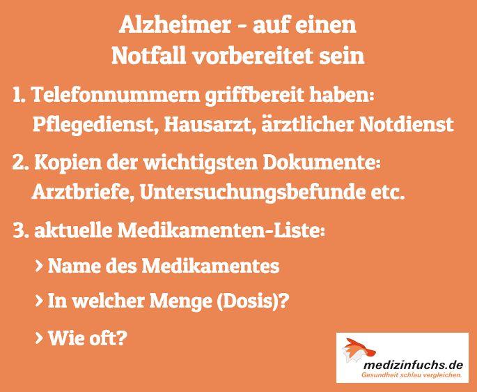 🌍 Heute ist #WeltAlzheimerTag 🌍 Bei #Alzheimer-Patienten können vemehrt #Notfälle auftreten. Um darauf vorbereitet zu sein, solltet Ihr im Vorfeld abklären, was zu tun ist. #Vergessen #Demenz #Krankheit #Gedächnis #Gesundheit #medizinfuchs