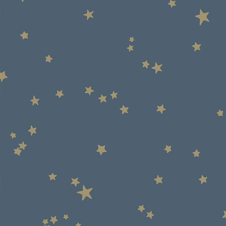 Cole & Son Whimsical_Stars 103-3017 Cole & Son behang wallpaper behangpapier behang woonkamer behang slaapkamer behang kinderkamer interieur design