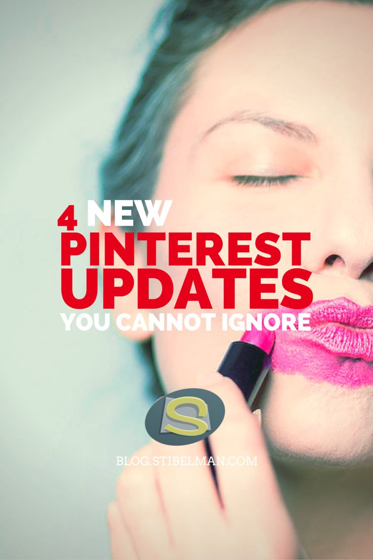 The last 4 Pinterest updates are a game changer. In order to stay on top of your Pinterest marketing strategy you'd better get to know them ASAP!