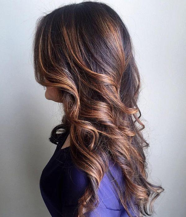 40 идей для балаяжа на волосах любого оттенка: покажи своему мастеру! | Журнал Cosmopolitan