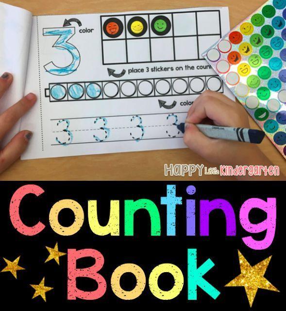Happy Little Kindergarten: Simple Counting Book for Kindergarten