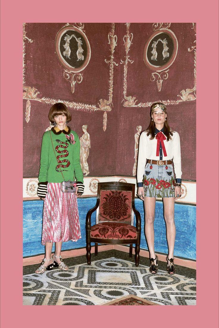 Sfilata Gucci Milano - Pre-Collezioni Autunno-Inverno 2016-17 - Vogue
