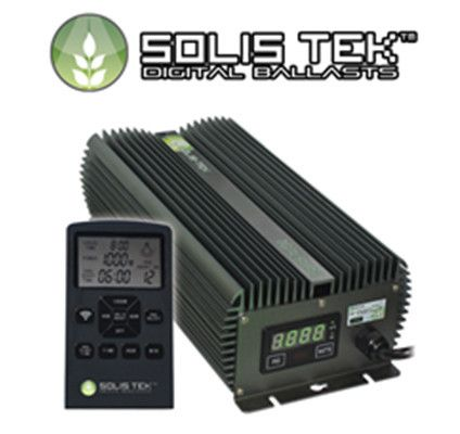 Solis Tek Digital Matrix Ballast 1000W,600W & 400W Remote controlled and dimmable. Best PAR available.