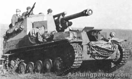 Wespe self-propelled artillery