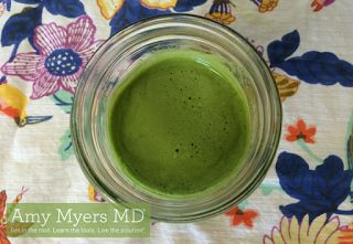 Jenny's Living Space: Ginger Green Juice