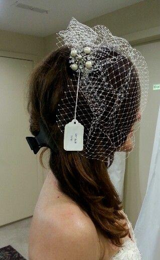 Pearl broach - ritche bridal