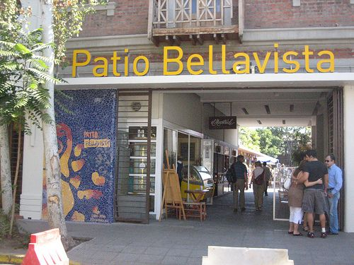 Entrada do patio Bellavista