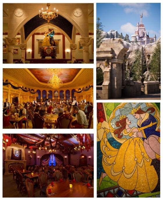Be our Guest Restaurant @ Beast Castle.  Beautiful restaurant, great atmosphere and yummy food.
