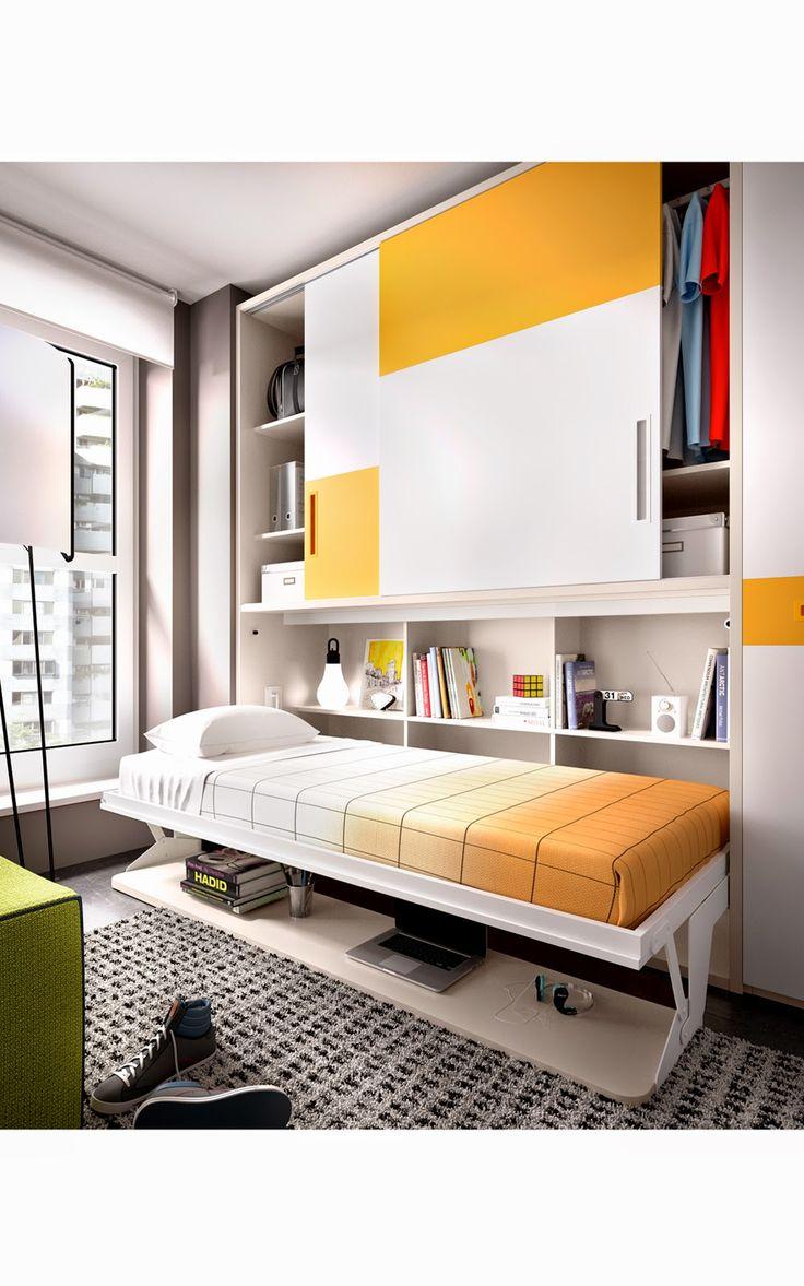 17 mejores ideas sobre dise o de dormitorio para hombres - Fabricante camas abatibles ...