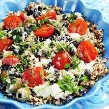 Quinoasallad med smaker från medelhavet - Recept - Tasteline.com
