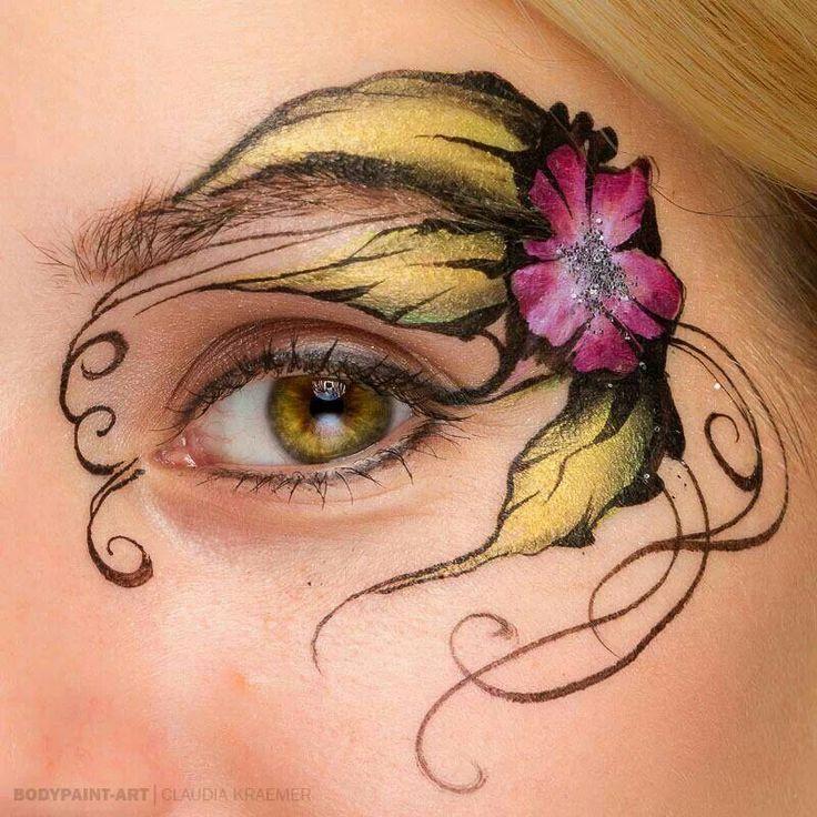 eye design face paint pinterest