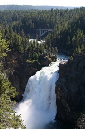 Yellowstone Falls, Yellowstone National Park...going here the end of the month...