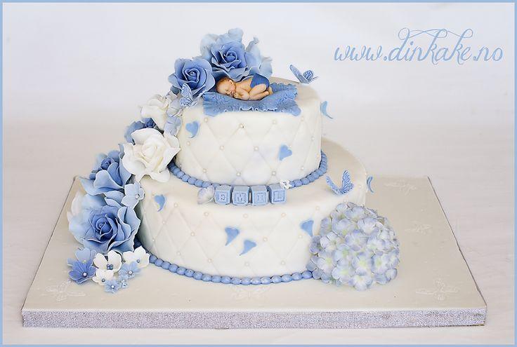 dinkake, dåpskake, dåp, babyshower ,christening cake, kakedekorering, kakepynting, kakekurs, navnedag, navnefest, navnedagskake, navnefestkake, babyshower cake