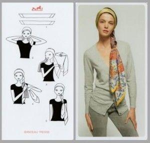 Comment #tressé ses #cehveux avec un #foulard ?