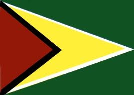 Guyana Flag - I was there for the dedication of this flag when Guyana gained its independence from Great Britain.