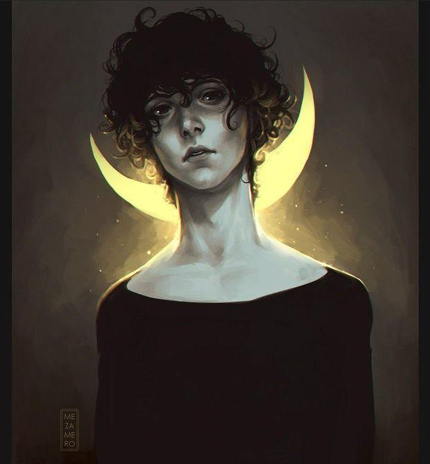 Portrait Illustrations by Mezamero