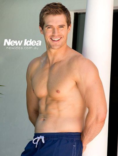 Yet another reason to watch Home & Away, Kyle Pryor - plays Nate Cooper the doctor, wouldn't mind a bit of his bedside manner!