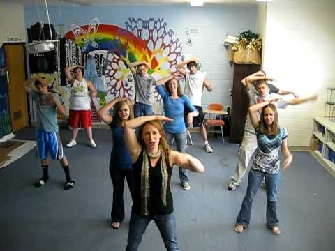 Geometry Dance includes moves for 45 vocabulary words from geometry!