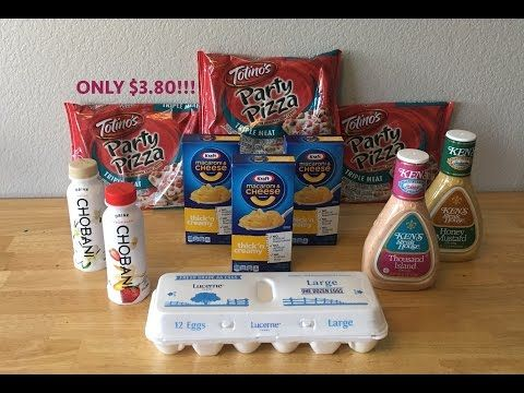 CHEAP Grocery deal! ONLY $3.80! Extreme couponing! - YouTube
