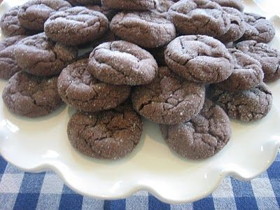 Brownie Bites  ...just three ingredients.  1 pkg Betty Crocker Devil's Food Cake Mix  1/3 cup vegetable oil  2 eggs