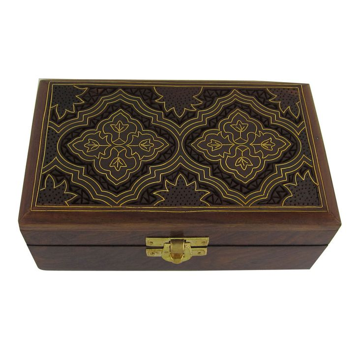 Best Wooden Jewelry Boxes: 25 Best Indian Wood Boxes Images On Pinterest