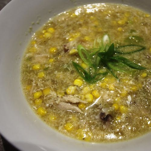 Bread and Sniff It : Chicken and Sweetcorn Soup