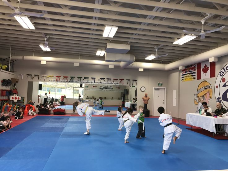 Congratulations to all our spring break day campers who completed the whole week of spring break and received there next belt level on their test today!  Join us now and start your martial arts journey this spring.   www.glenmoremartialarts.com  250-868-8690  #glenmoremartialarts #kelowna #glenmore #martialarts #daycamp #congratulations #promotion #testing #dedication