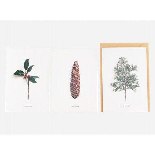 Leuk om zelf te maken voor de volgende kerst. Mooie foto's maken en afdrukken! House Doctor Ansichtkaarten Winters (set van 6 kaarten)