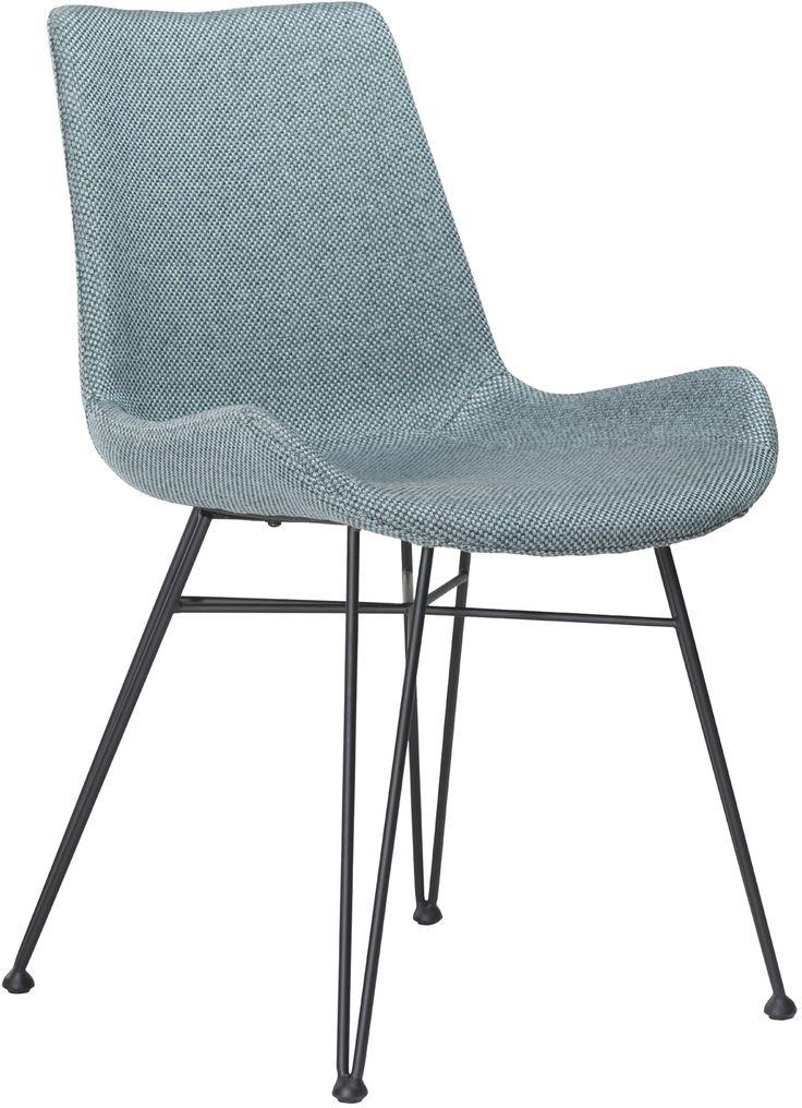 Hype stoel blauw - Dan-Form