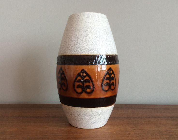 West German Mid Century Ceramic Vase from Dumler von Sublimemodern