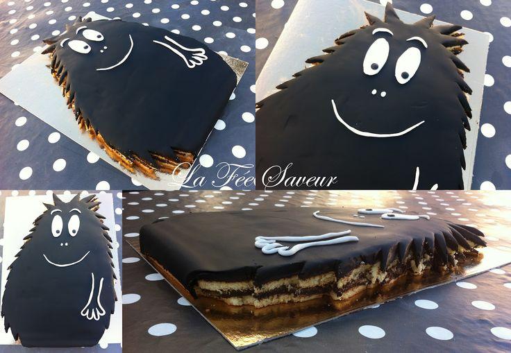 La Fée Saveur....: Prairie Barbapapa et Barbouille au chocolat !