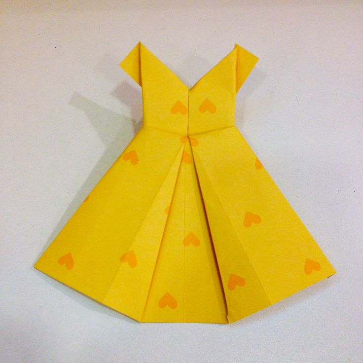 17 best images about origami dresses on pinterest