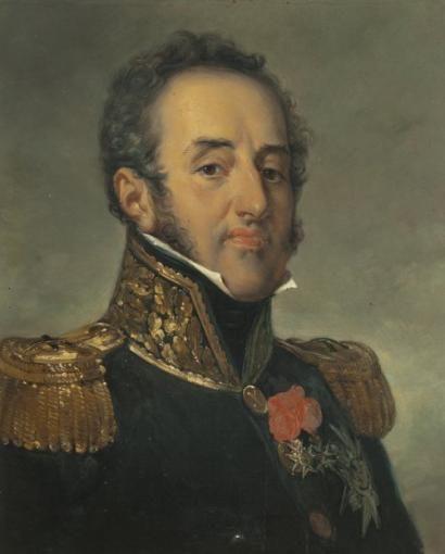 Jean-Sébastien ROUILLARD, d'après Horace VERNET Portrait du maréchal Louis-Gabriel
