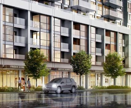 Time Development Group Presents mixed-use mid-rise condominium project in Toronto. Danforth Square Condo is an up-and-coming area designed for young professionals looking for a contemporary fresh design. #DanforthSquareCondo